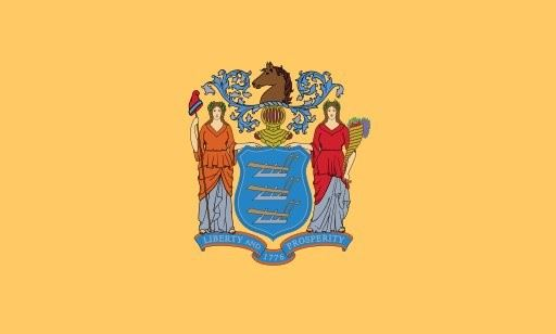 Proper New Jersey State Flag